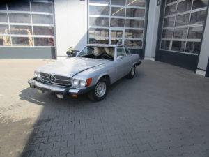 Mercedes SL Restauration und Aufbereitung